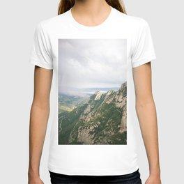 mountains of montserrat T-shirt
