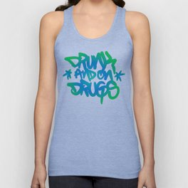 Drunk and on Drugs Unisex Tank Top