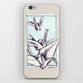 Paper Cranes iPhone Skin