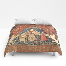 The Lady And The Unicorn Comforters