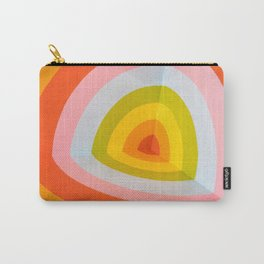 Multi Colour Corner Wall Art Carry-All Pouch