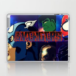Heroes take a Stand Laptop & iPad Skin