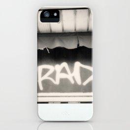 Rad Spectra B&W iPhone Case