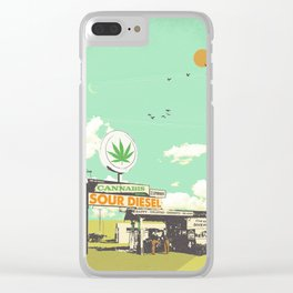 SOUR DIESEL Clear iPhone Case