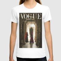 vogue T-shirts featuring VOGUE INDIA by ArpanDholi