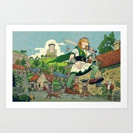 Irish Giant Art Print
