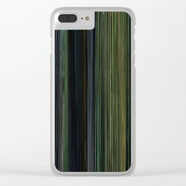 The Matrix Movie Barcode Clear iPhone Case