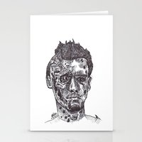 terminator Stationery Cards featuring Terminator by Americo Artspace