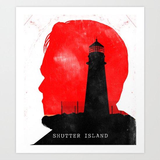 Shutter Island - Movie Poster Art Print