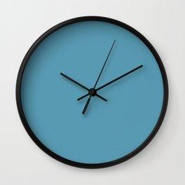Hippie Blue Wall Clock
