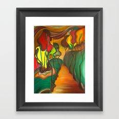 Indian Park Framed Art Print