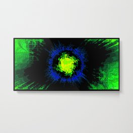 Skunkworks Chrome vol 08 51 Metal Print
