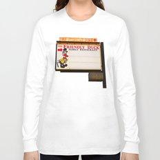 The Friendly Duck Restaurant Long Sleeve T-shirt