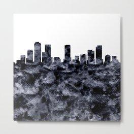 Denver Skyline Colorado Metal Print