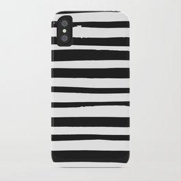 STRIPE BW iPhone Case