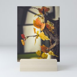 Autumn outdoors Mini Art Print