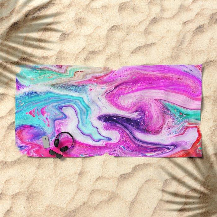 MARBLE 01 Beach Towel