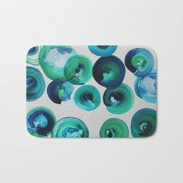 Ocean swirls Bath Mat