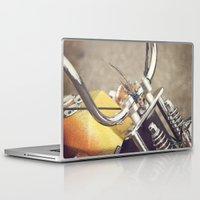 moto Laptop & iPad Skins featuring Moto by CMcDonald