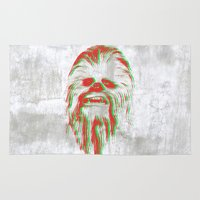 chewbacca Area & Throw Rugs featuring Chewbacca by mangen
