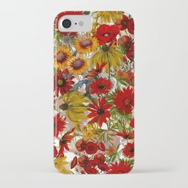Vintage & Shabby Chic - Colorful End Of The Summer iPhone Case