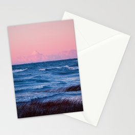 The Sun Was Red Stationery Cards