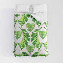 TROPICAL LEAVES Comforters