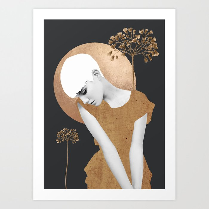 Gentle Beauty 7 Art Print