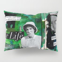 Albert Schweitzer Pillow Sham