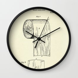 Toilet Paper Roll-1891 Wall Clock