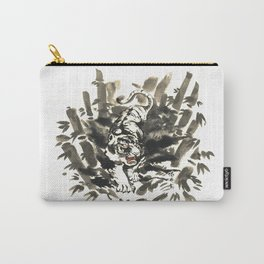 Tiger in bamboo forest Carry-All Pouch