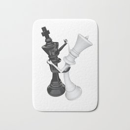 Chess dancers Bath Mat