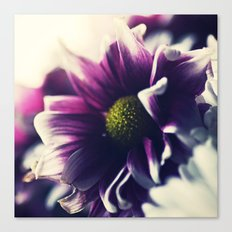 Mother's Day Purple Flower Canvas Print