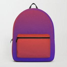 STEAM SCENE - Minimal Plain Soft Mood Color Blend Prints Backpack