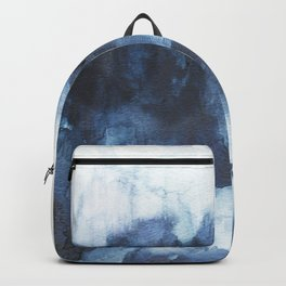Indigo watercolor 2 Backpack