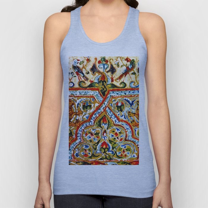 old motives / colorful / Armenian  Unisex Tank Top