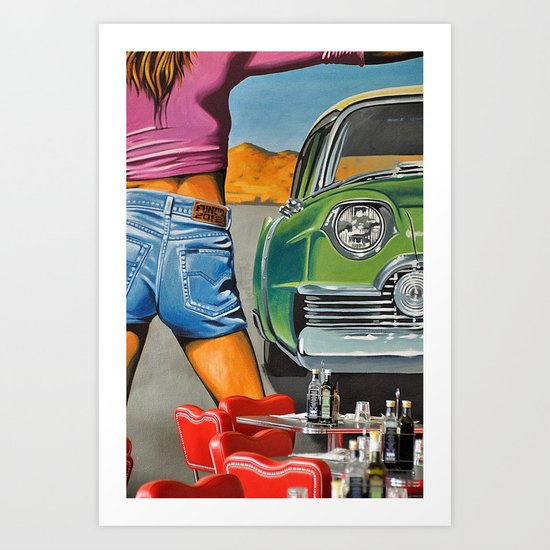 Rock n Roll 2 Art Print