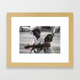 Young & Happy Framed Art Print
