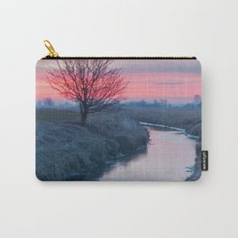 Colorful Sunrise On The River Carry-All Pouch