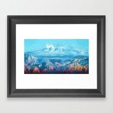 Magical Morning Flight Framed Art Print