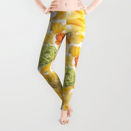 Pasta Pattern Leggings