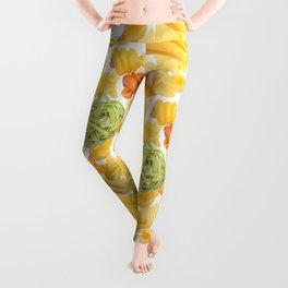 Pasta Pattern Leggings