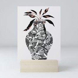 Snake Vase Mini Art Print