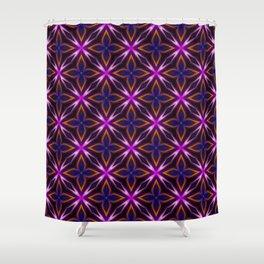light flower pattern Shower Curtain