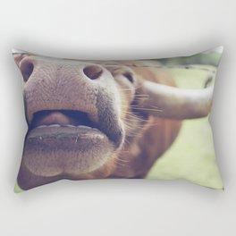 Cutie Pie Longhorn Rectangular Pillow