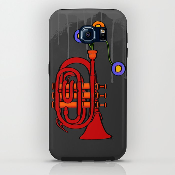 Happy to see my pocket trumpet iPhone Case