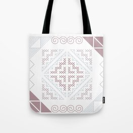 Tribal Hmong Embroidery Tote Bag