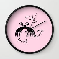 seal Wall Clocks featuring Seal by mailboxdisco