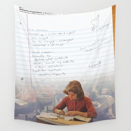 I've Learned; [Dear Capitalist Scum] Wall Tapestry