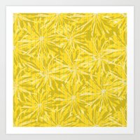 sunflowers Art Prints featuring Sunflowers by Simi Design